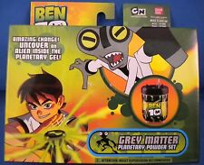 Ben 10 Planetary Powder Grey Matter - Ban Dai - NEW