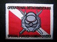 United States Operational Detachment A-015 Special Forces Combat Divers Patch