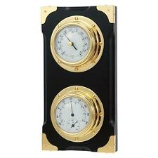 Fine Quality Marine Wall Weather Station Barometer Thermometer Hygrometer New