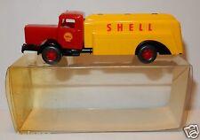 WIKING HO 1/87 TRUCK CAMION BÜSSING 8000 CITERNE SHELL TANKWAGEN GAZOLINE IN BOX