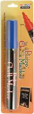 Bistro Chalk Marker 6mm Bullet Tip 1/Pkg-Blue Marvy
