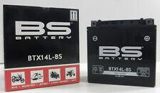 BS BATTERY BATTERIA YTX14L-BS CON ACIDO HARLEY DAVIDSON FORTY-EIGHT 1200 2011