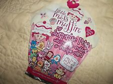 LITTLE MISS MUFFIN- MY SURPRISE PETS W/ COOKIE CUTTER & RECIPE CARD-2 BLIND BAGS
