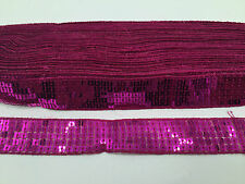 SEQUIN TRIM LACE RIBBON FOR CARFT, COSTUME, DRESSMAKING ETC 25MM WIDE
