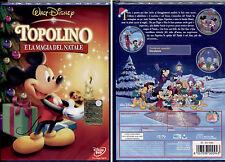 TOPOLINO E LA MAGIA DEL NATALE- DVD DISNEY, NUOVO E SIGILLATO, OLOGRAMMA TONDO .