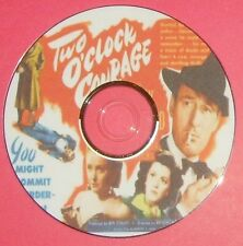 FILM NOIR: TWO O'CLOCK COURAGE (1945) Anthony Mann Tom Conway, Ann Rutherford