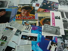DR ROBERT/BLOW MONKEYS - MAGAZINE CUTTINGS COLLECTION (REF XC)
