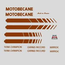 Motobecane bicyclette cadre autocollants-decals-transfers n.504