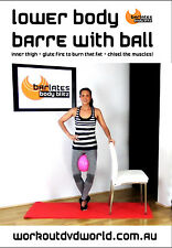 Barre Toning EXERCISE DVD - Barlates Body Blitz LOWER BODY BARRE WITH BALL!