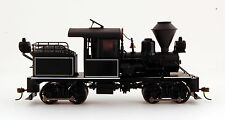 Bachmann On30 Scale Train Stearns-Heisler DCC Equipped Black, White Trim 28803