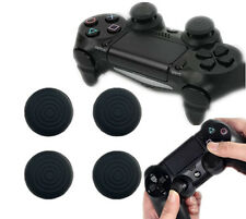 4X Black Silicone Gel Thumb Grips For PS4 /PS3 /Xbox 360 /XboxOne Controller New