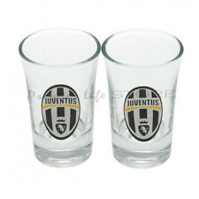 Fc Juventus Football Club Vasos de chupito Juventus Big Logo Shot Glass Set De Regalo