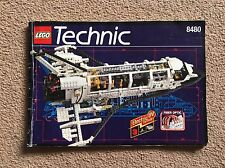 RARE Lego Space Shuttle and Submarine (8480) INSTRUCTION MANUAL Only!