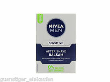 (59,99€/L) 100ml Nivea MEN Sensitive After Shave Balsam 0% Alkohol KEIN BRENNEN