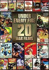 Under Enemy Fire: 20 Movies (DVD, 2013, 4-Disc Set) SEALED