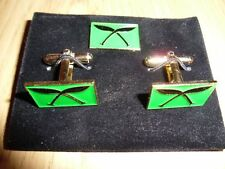 Gurkha TRF Kukri cufflinks and lapel pin set, Nepal, Nepalese, MPGS