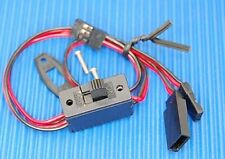 RECEIVER RADIO SWITCH for FUTABA HITEC SPEKTRUM etc rc boat car aircraft