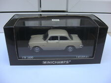 Minichamps Volkswagen VW 1600 sedan 1966 cream 430055300 mint in box, 1:43 MIB