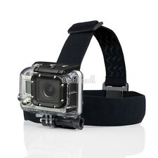 Camera Head Strap Mount For GoPro Hero3 Go Pro 2 3 & Hero HD Hero2 Headstrap BE0
