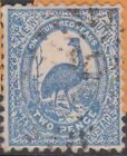 (STA195) 1888 NSW 2d BLUE EMU (D)