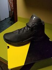 Under Armour Curry 2.5 Black Size 9us Basketball Shoe new
