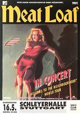 Original Konzertplakat  Meatloaf 1996   Stuttgart Schleyerhalle