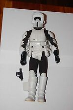"Biker Scout 12""-Hasbro-Star Wars 1/6 Scale Customize Side Show"