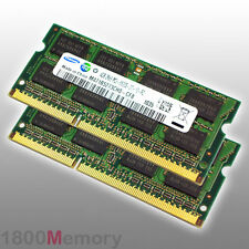 Apple Mac 8GB Memory 2x 4GB 1066MHz DDR3 PC3-8500 RAM for MacBook Pro iMac Mini