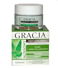 MIRACULUM GRACJA FACE CREAM MOISTURIZING ANTI WRINKLE  ALOE HYALURONIC ACID