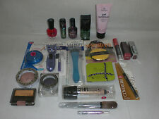Brand name mixed makeup cosmetics Sally Hansen Covergirl Hard Candy Lot of 20