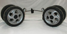 Mamas & Papas Pliko P3 Replacement Rear Wheels Free Post Great Buy