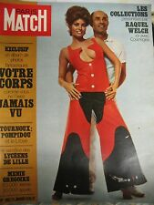 PARIS MATCH N° 1082 COLLECTION MODE RAQUEL WELCH COURREGES 1970