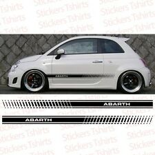 Fiat Abarth 500 Racing - 1 Stripe Side - Car Truck Decal Vinyl Sticker