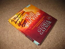 Gloria Gaynor: We Will Survive - CD Audiobook - HAND SIGNED AUTOGRAPHED