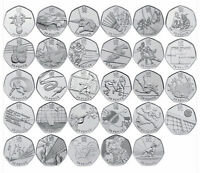 2011 Royal Mint London 2012 Olympic 50p Fifty Pence Coin Hunt