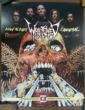 Music Poster Promo Cannibal Corpse ~ Wretched