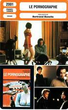 FICHE CINEMA : LE PORNOGRAPHE - Léaud,Renier,Blanc,Bonello 2001 The Pornographer