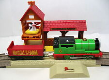 Thomas & Friends, Trackmaster, Percy's Day at the Farm Set, Complete, EUC