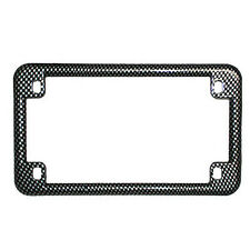 Carbon Look Universal Motorcycle License Plate Frame