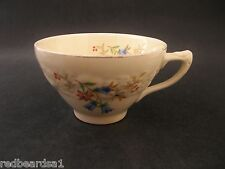 China Replacement Crown Ducal Florentine Bluebell Embossed Vintage Tea Cup 1930s