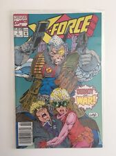 X-Force #7 Feb 1992 Marvel Comics Under The Knife Casualty Of War Liefeld