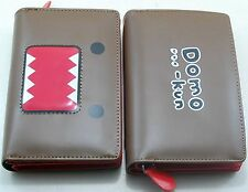DOMO KUN Womens Girls Boys Faux Leather Bifold Purse Wallet
