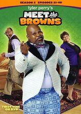 Tyler Perry's Meet the Browns: Season 2 [3 Discs] (2013, DVD NIEUW) WS3 DISC SET