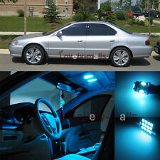 Ice Blue SMD Car Bulb Light Interior LED Package Kit For Acura TL 1999-2003