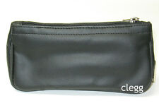 Castleford Extra Large Black Pipe Tobacco Pouch Large Pipe Pocket  - New