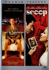NEW DOUBLE FEATURE DVD // LOST IN THE TRANSLATION & SCOOP // HUGH JACKMAN,