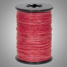 """Red BCY Halo .014"""" Braided Spectra Serving Material Spool Bow String"""