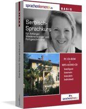 Sprachenlernen24.de Serbisch-Basis-Sprachkurs. CD-ROM (2007) + MP3-Audio-CD