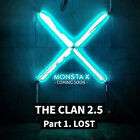 MONSTA X-[THE CLAN 2.5 PART.1 LOST] 3rd Mini Album FOUND CD+POSTER+Photobook+etc