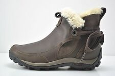 Womens Merrell Misha Winter Waterproof Brown Leather Boots Size 8 J55894